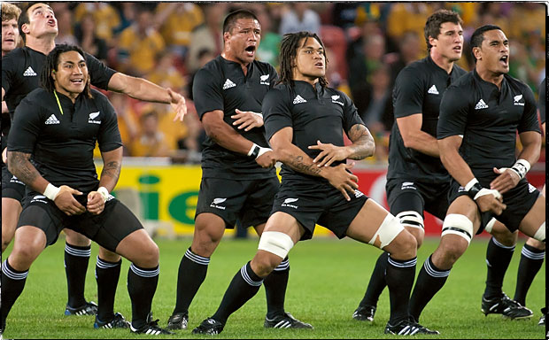 The new zealand all blacks are the most famous and successful rugby